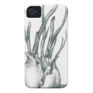 charcoal,drawing,food,garlic,green,leaves iPhone 4 cases
