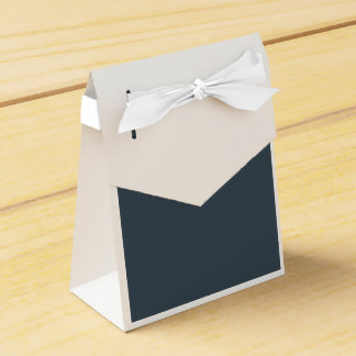 Charcoal Gray Favour Boxes