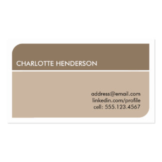 Charcoal gray smart student employment resume card Double-Sided standard business cards (Pack of 100)