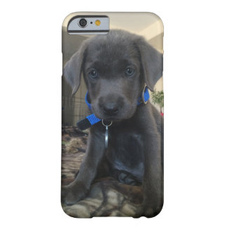 Charcoal labrador phone case, barely there iPhone 6 case