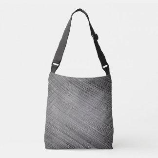 Charcoal Stitch Crossbody Bag