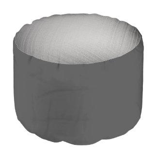 Charcoal Stitch Pouf