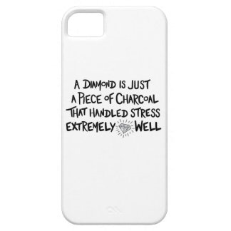 charcoal to Diamond iPhone 5 Covers