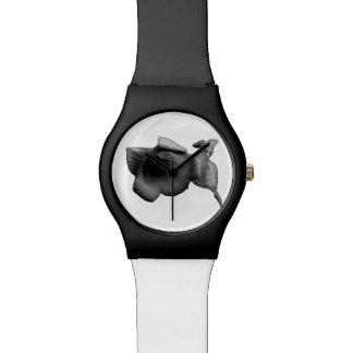 Charcoal Wildflower Watch