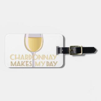 Chardonnay Luggage Tag