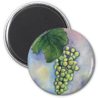 Chardonnay Wine Grapes Magnet