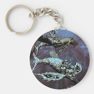 Charge of the Fish Pilot Key Ring
