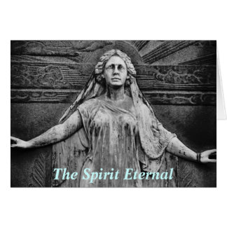 Charge of the Goddess Wiccan Sympathy Card