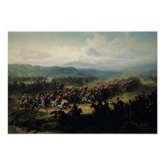 Charge of the Light Brigade, 25th October 1854 Poster