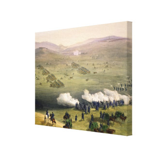 Charge of the Light Cavalry Brigade, October 25th Gallery Wrapped Canvas