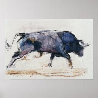 Charging Bull 1998 Poster