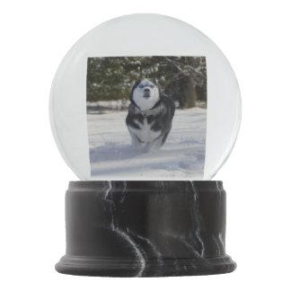 Charging Through Snow Globes