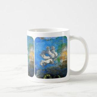 Chariot of Apollo: by Symbolist Odilon Redon Coffee Mug