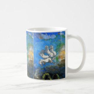 Chariot of Apollo - by Symbolist Odilon Redon Mugs