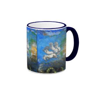 Chariot of Apollo - by Symbolist Odilon Redon Coffee Mugs