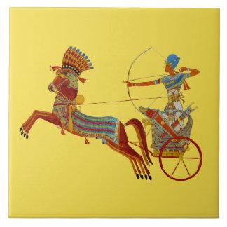 Chariot of Ramesses Ceramic Tile