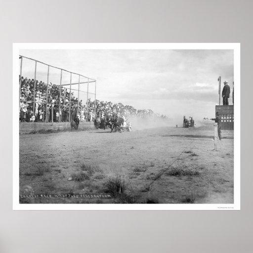 Chariot Race In Alaska 1926 Posters