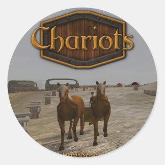 Chariots_square_300dpi Sticker