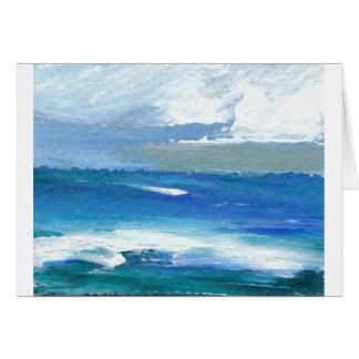 Charisma Oceanscape Ocean Art Gifts Card