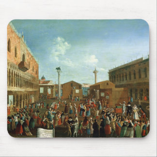 Charlatans in the Piazzetta San Marco, Venice Mouse Pad