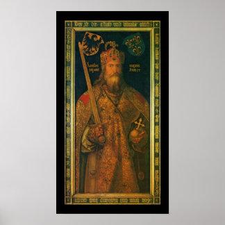 Charlemagne by Dürer Poster Print