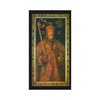 Charlemagne Stretched Canvas Print