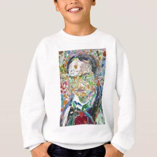 CHARLES BAUDELAIRE - oil portrait Sweatshirt