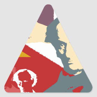 Charles BAUDELAIRE Triangle Sticker
