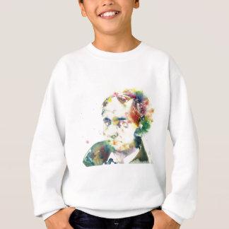 CHARLES BAUDELAIRE - watercolor portrait.1 Sweatshirt