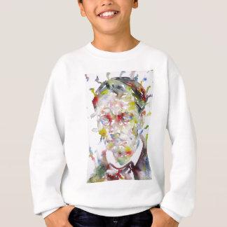CHARLES BAUDELAIRE - watercolor portrait.3 Sweatshirt