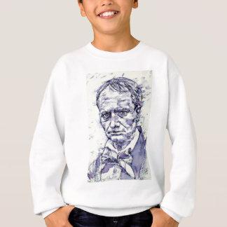 CHARLES BAUDELAIRE - watercolor portrait.4 Sweatshirt