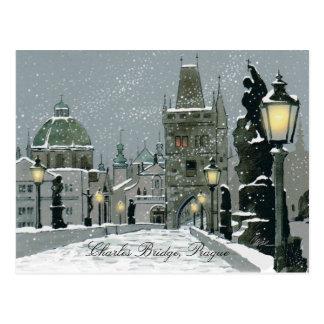 Charles Bridge post card