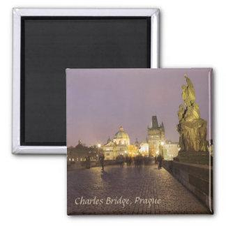 Charles Bridge, Prague souvenir photo Magnet