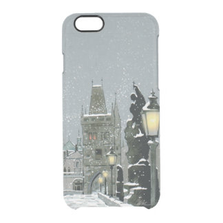 Charles Bridge Winter iPhone 6/6S Clear Case