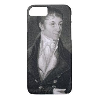 Charles Brockden Brown (1771-1810) engraved by Joh iPhone 7 Case