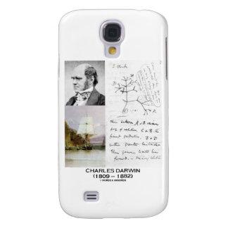 Charles Darwin (Darwin HMS Beagle Phylogenetics) Galaxy S4 Case