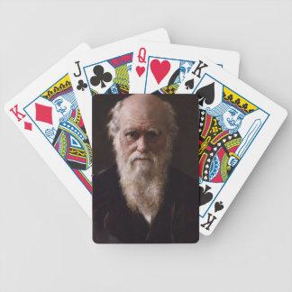 Charles Darwin Playing Cards
