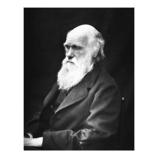 Charles Darwin Portrait Flyer