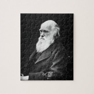 Charles Darwin Portrait Jigsaw Puzzle
