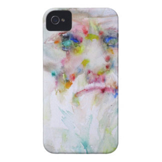 charles darwin - watercolor portrait iPhone 4 Case-Mate cases