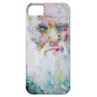 charles darwin - watercolor portrait iPhone 5 case