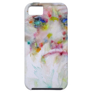 charles darwin - watercolor portrait tough iPhone 5 case