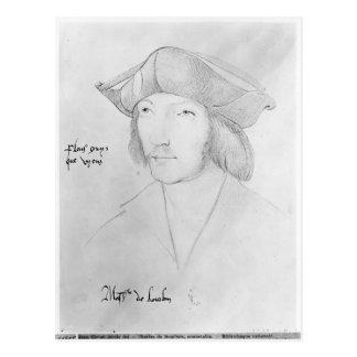 Charles de Bourbon  16th century Postcard
