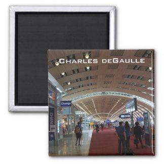 Charles deGaulle International Airport Magnet