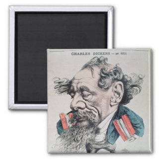 Charles Dickens astride the English Channel Magnet