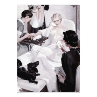 Charles Edward Chambers: Manicure Card