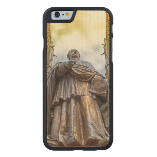 Charles-Emile Freppel statue, Obernai, France Carved Maple iPhone 6 Case