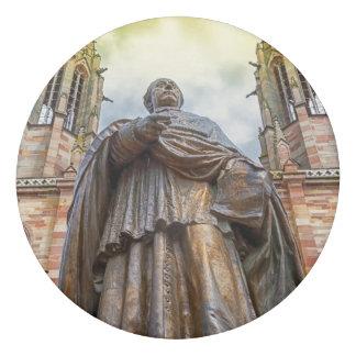 Charles-Emile Freppel statue, Obernai, France Eraser