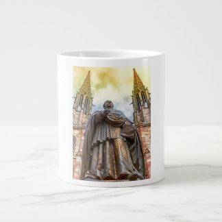 Charles-Emile Freppel statue, Obernai, France Large Coffee Mug