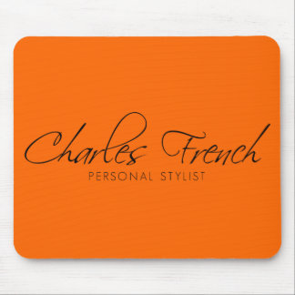 Charles French Mouse pad
